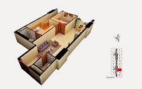 Thiết kế căn 16 tòa B chung cư Gemek Tower