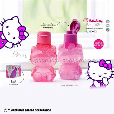 Hello Kitty Bottle Promo Tupperware April 2016