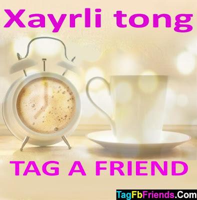 Good morning in Uzbek language