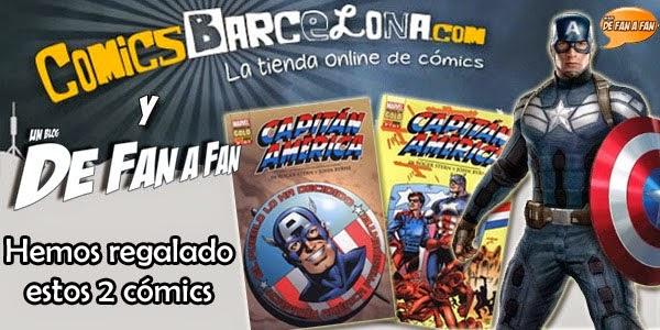 Ganadores Capitán América  2 by De Fan a Fan y ComicsBarcelona.com