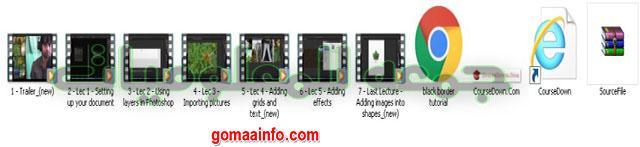 تحميل كورس فوتوشوب للمبتدئين  Adobe Photoshop Level 1 Photo Collage