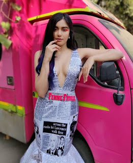 Adah Sharma at Nykaa Femina Beauty Awards 2019 (4)