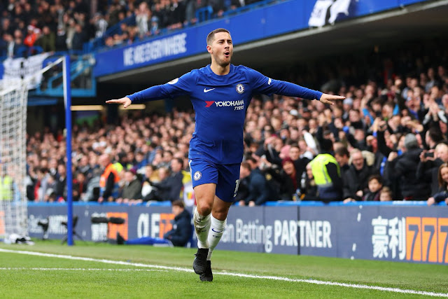 Chelsea 3-1 Newcastle: Hazard double sinks Magpies