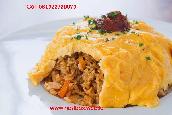 Resep nasi goreng omelete nasi box kawah putih ciwidey