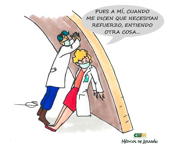 FALTA PERSONAL DE REFUERZO