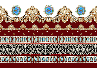 Saree-border-design-for-textile-print