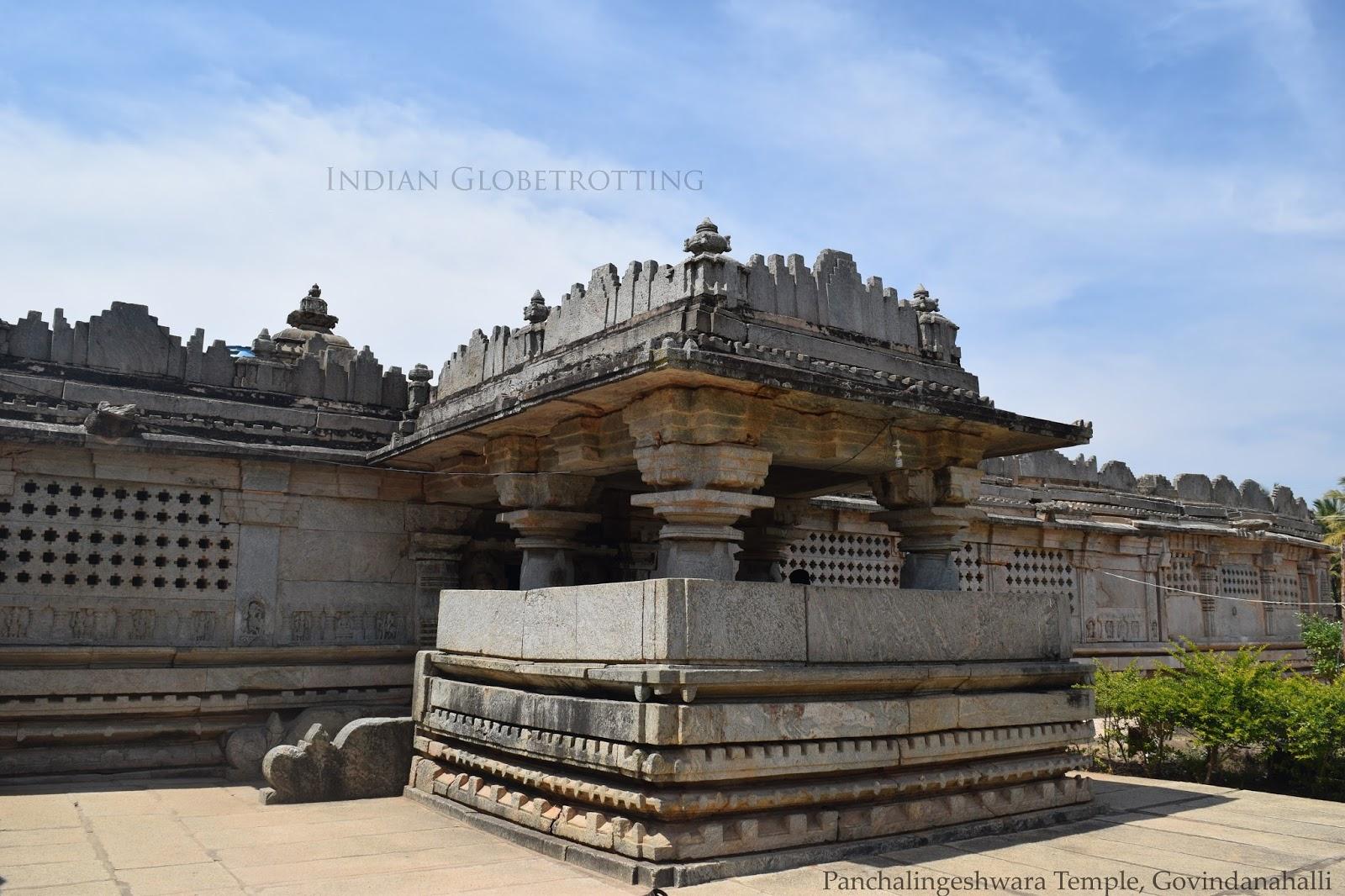 Panchalingeshwara Temple in govindanahalli in karnataka