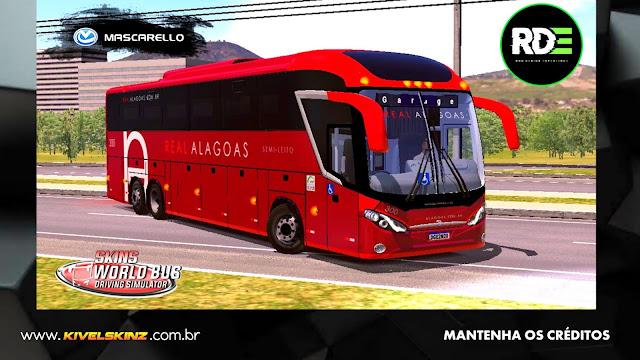 MASCARELLO ROMA R8 - VIAÇÃO REAL ALAGOAS