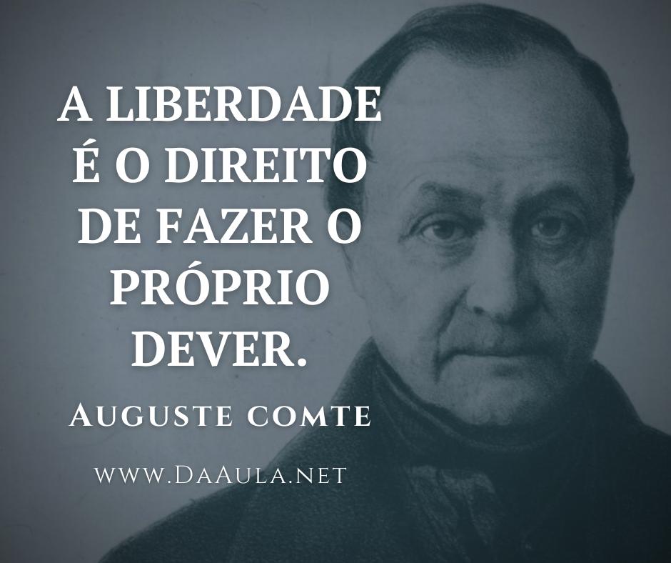Quem foi Auguste Comte?