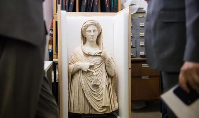 British Museum set to return ancient Greek statue looted from Libya
