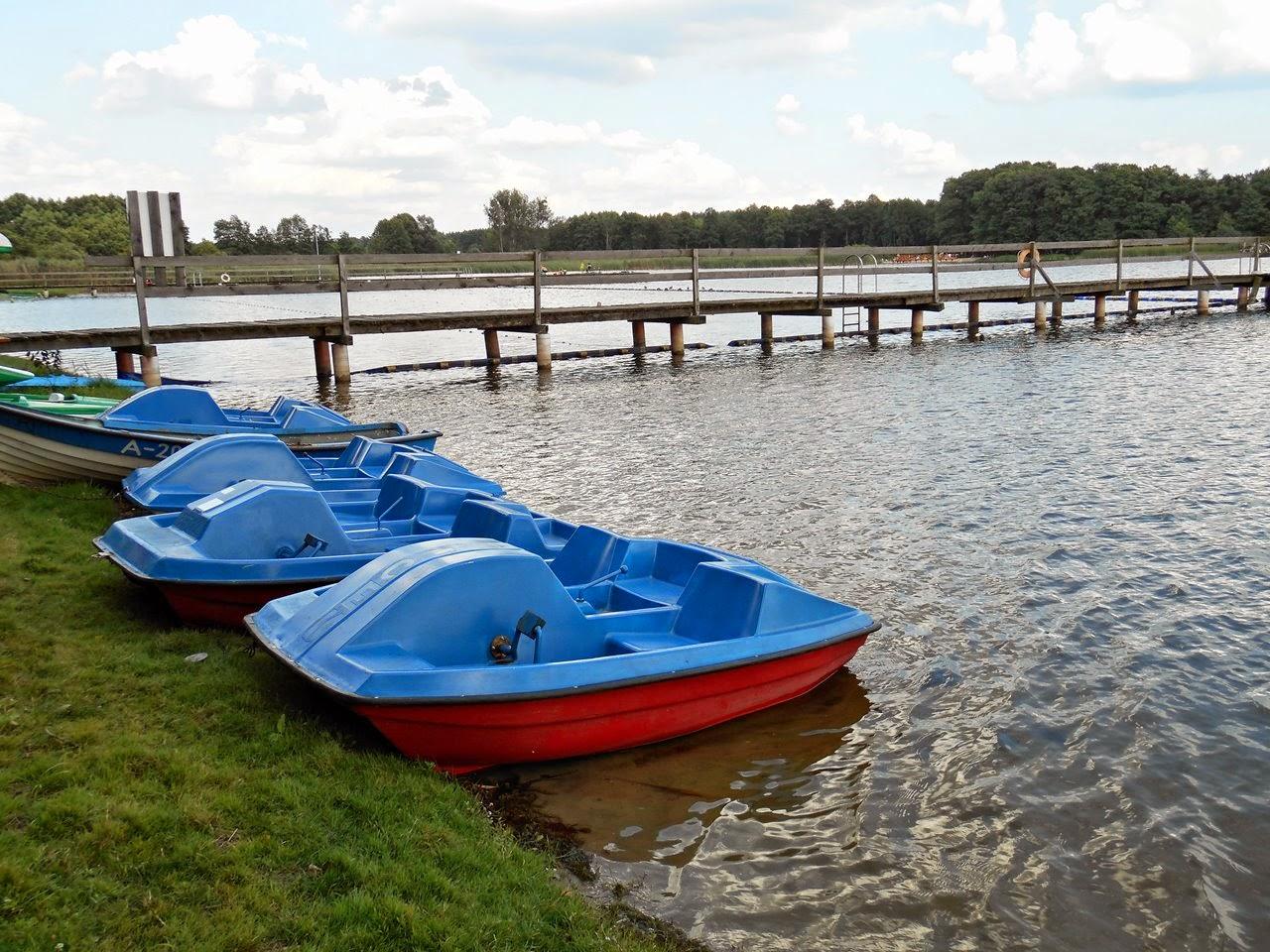 jezioro, sporty wodne, wypoczynek