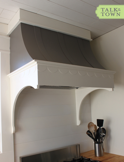 Talk Of The Town How To Build A Range Hood