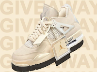 Logo Vinci gratis un paio di Sneakers Jordan 4 x Off-White ( valore circa 190 euro)