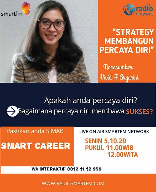 vivid f argarini smart career smart fm strategi membangun percaya diri untuk sukses