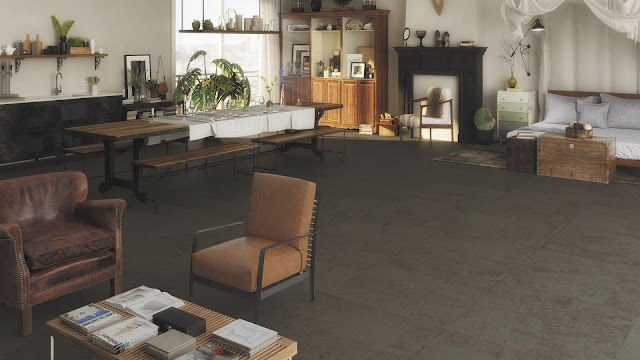 Tiles design images of Brave & Recover series - Very natural effect with contemporary touch floor tiles