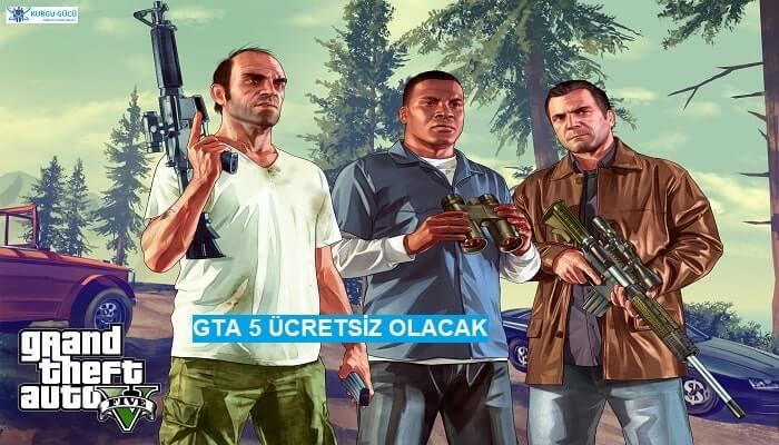 GTA 5, Epic Games Store'da Ücretsiz Dağıtılacak! - Kurgu Gücü