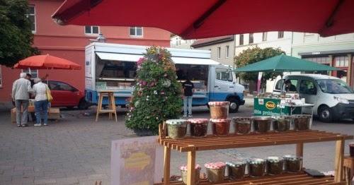 Grüner Markt in Aschersleben