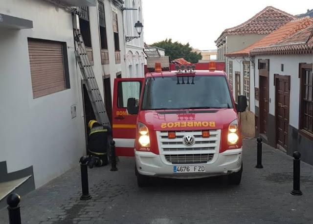 Una vivienda de Tazacorte sufre un segundo incendio estando en proceso de restauración