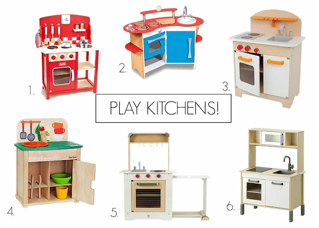 Our Nest In The City: the best play kitchens!