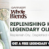 Free Garnier Whole Blends Olive Shampoo Sample