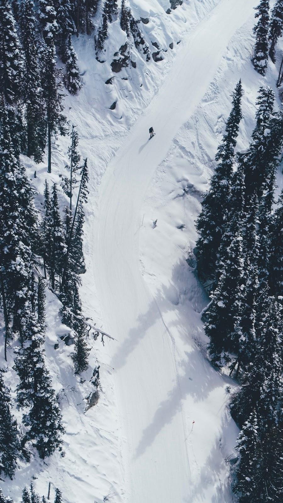 Snow Wallpaper 4k iPhone Winter 2020