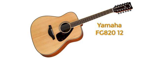 Guitarra de 12 Cuerdas Yamaha FG820 12