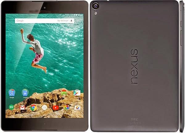 Spesifikasi Dan Harga Baru HTC Nexus 9