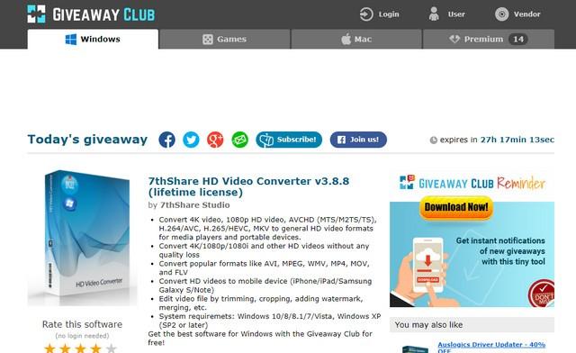 Giveaway Club