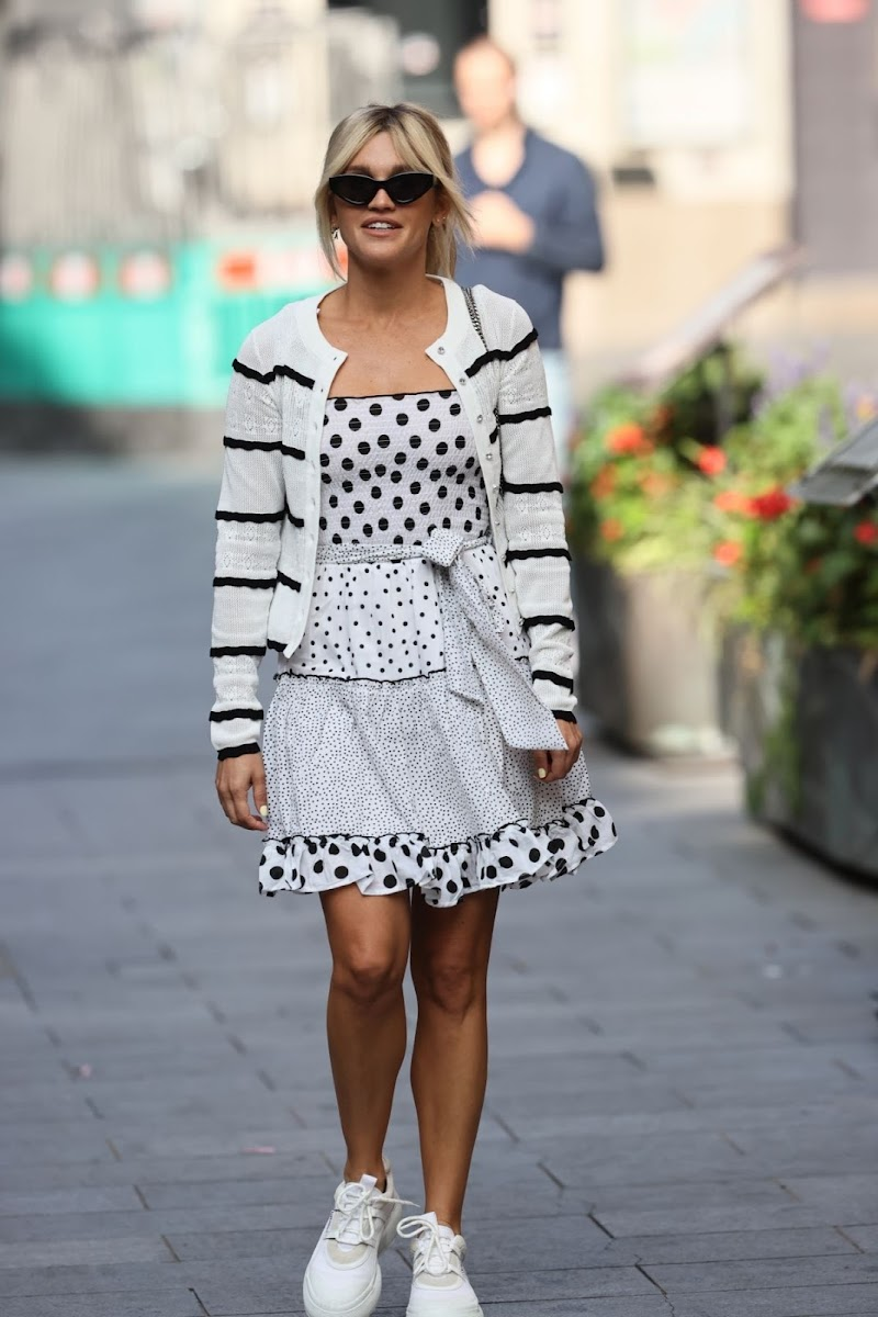 Ashley Roberts Clicked Outside in London 17 Sep- 2020