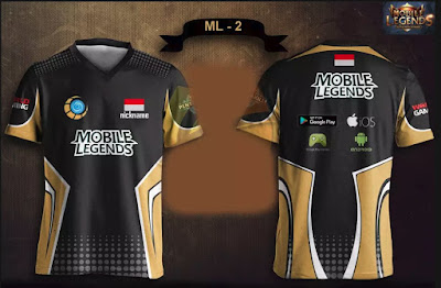 Main Mobile Legend Makin Percaya Diri Dengan Jersey Custom