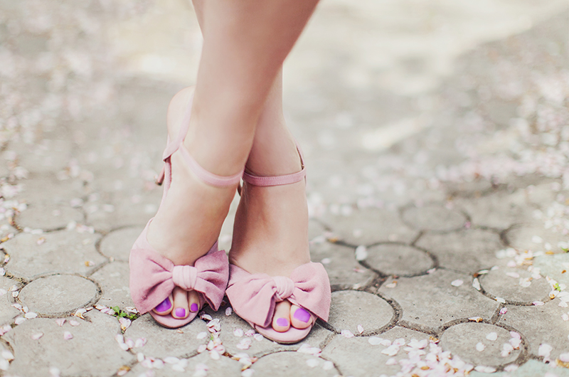 Office Scarlett Knot Heeled Sandals