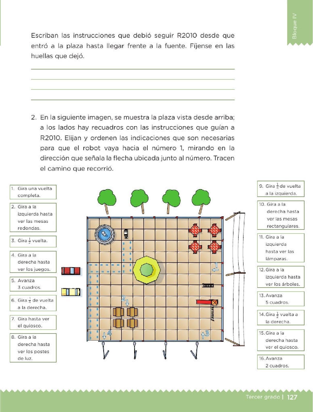 El robot - Bloque IV - Lección 60 ~ Apoyo Primaria