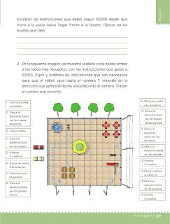 Apoyo Primaria Desafíos matemáticos 3ro Grado Bloque IV Lección 60 El robot