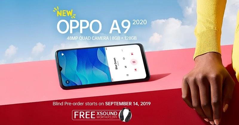 OPPO A9 2020 Blind Pre-Order
