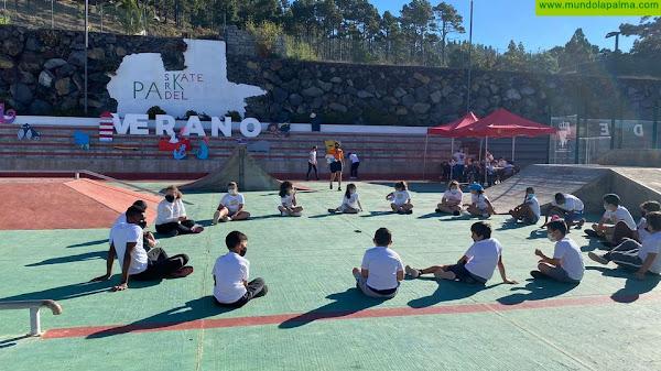 Arranca con alto nivel de participación el primer 'Summer Camp' de Fuencaliente
