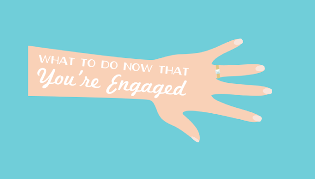 What-To-Do-Now-That-You're-Engaged #Infographic