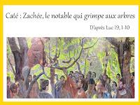 Caté : Zachée, le notable qui grimpe aux arbres