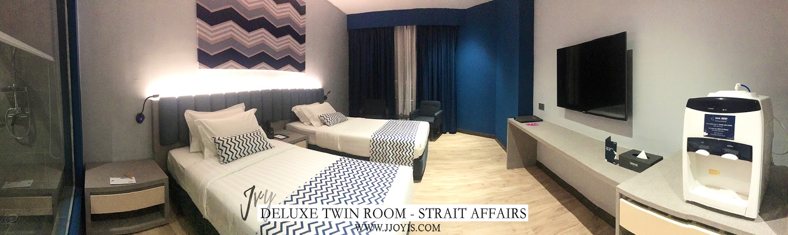 deluxe room twin trove hotel jb review