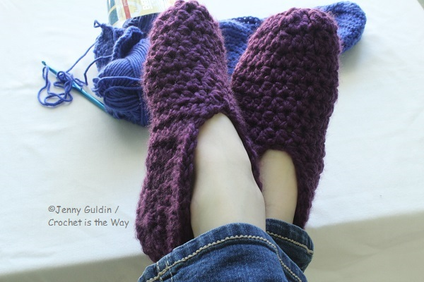 Charisma, crochet, easy, how to, SlipperMania, slippers, Socks, tutorial, Yarn