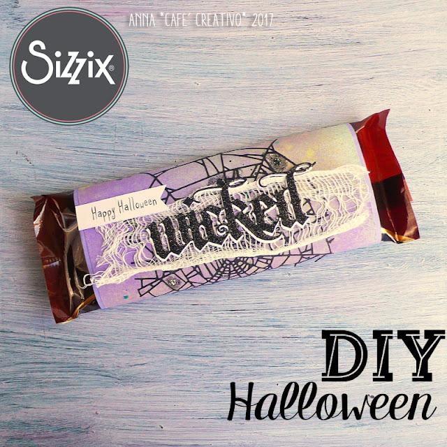 Halloween tavoletta di cioccolato personalizzata