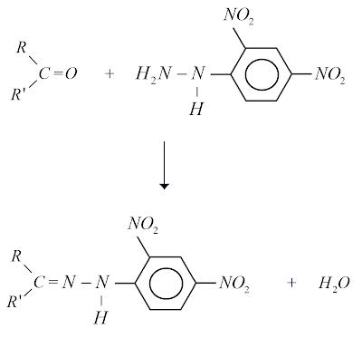 reaçao reagente brady