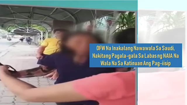"The family of an overseas Filipino worker (OFW)  who was deployed in Saudi as a household service worker was in deep confusion on how their loved one ended up wandering at the Ninoy Aquino National Airport Terminal 2 when she was presumed missing in the gulf country.        Ads  The OFW was identified as Eva Alfon, 38, from Negros Oriental who was deployed as a household worker in Saudi Arabia. She was found disoriented, seemingly not on her right state of mind and extremely hungry.  A good samaritan gave her something to eat and contacted the family of the OFW.  The husband was so emotional when he met her. With the help of the program hosted by Mr. Raffy Tulfo, they located her OFW wife and reunited with them.  Labor Secretary Silvestre Bello assured the victim that she will get appropriate justice for what she suffered abroad. The agency who deployed her is facing a risk of being blacklisted due to its negligence.    Ads            Sponsored Links      According to the husband, the wife told him that there was a misunderstanding or some sort of language barrier which causes trouble with her sponsor.  But according to the OFW, she did not escape but was sent to the airport by a certain ""Khaled""."