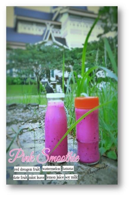 Resep Pink Smoothie dan Bonus Tips Spesial Pembuatannya