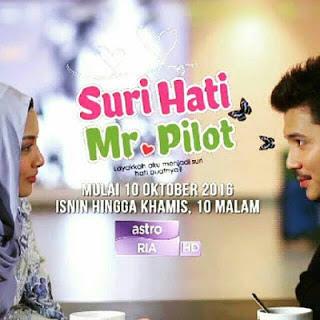 Tonton Drama Suri Hati Mr Pilot Episod 9
