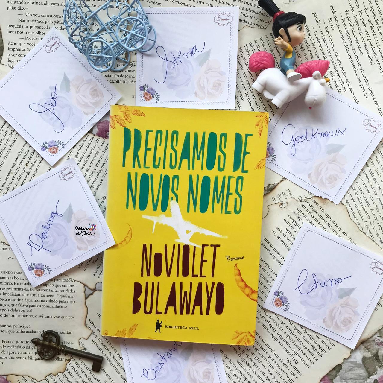 Precisamos de Novos Nomes || NoViolet