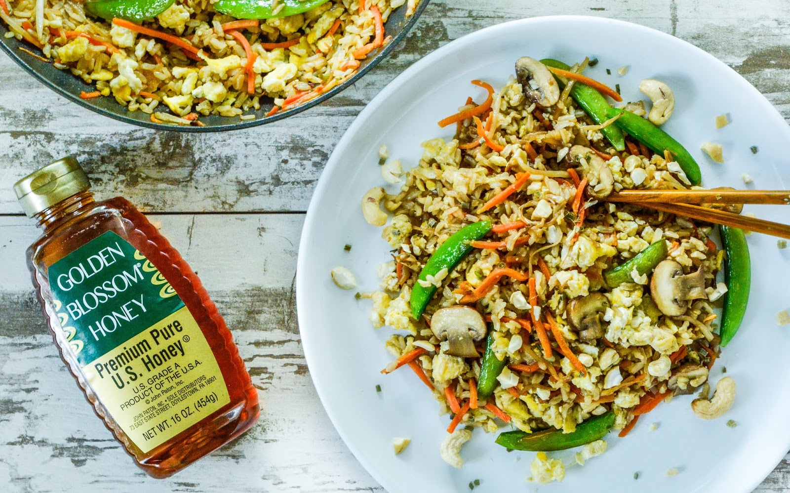 Vegetable Stir Fried Rice