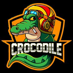 logo crocodile unik
