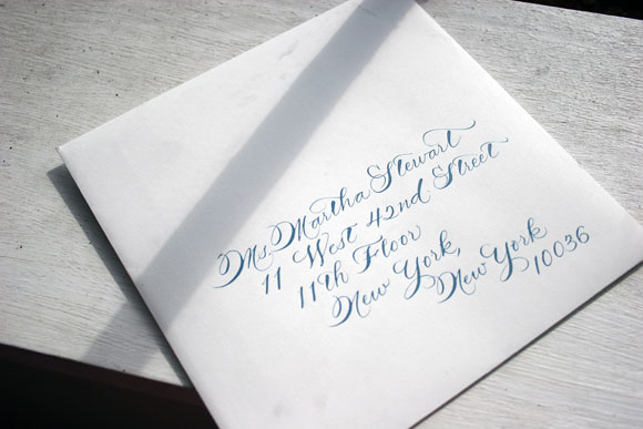Diy Calligraphy Wedding Invitations: ELLA MODERN: Wedding Wednesday:: DIY Calligraphy
