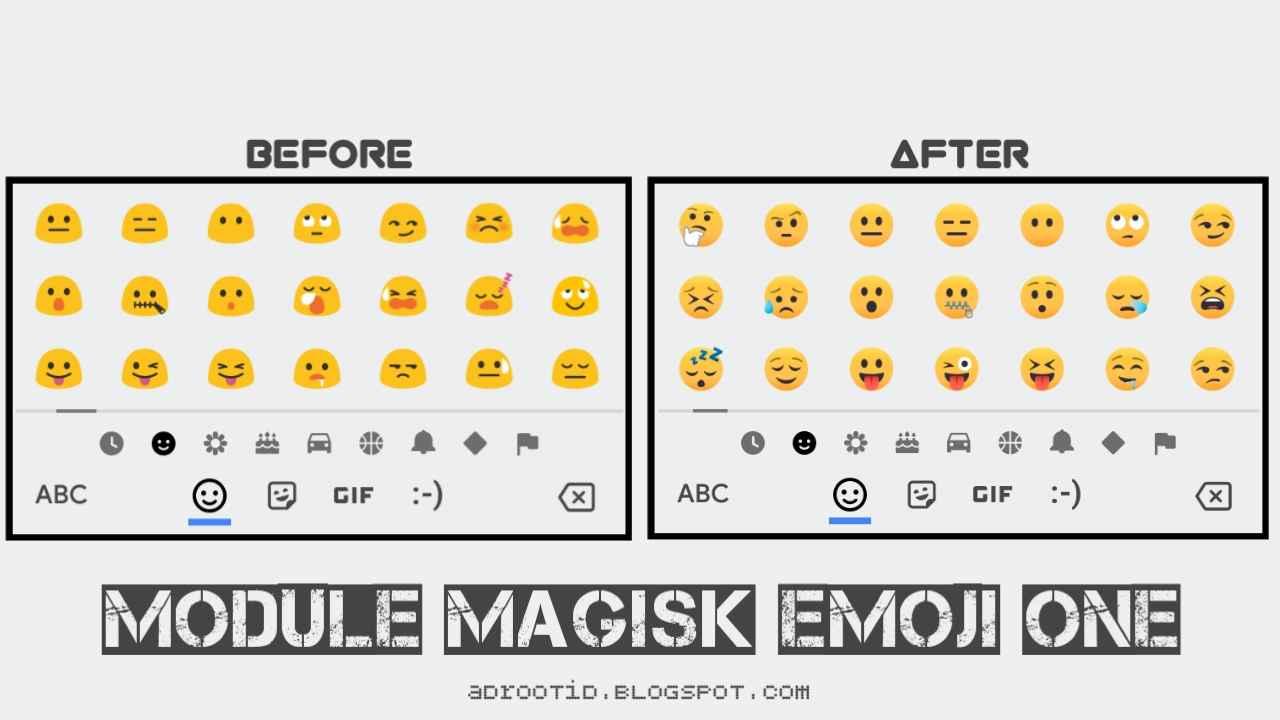 Module Magisk Pengubah Emoji