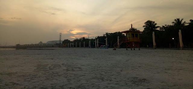 Sunrise Pantai Ancol